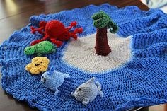 Ravelry: Island Play Set pattern by Jennifer Olivarez