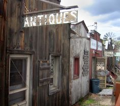Wee antique row outside Soap Lake Soap Lake, Lake Photos, The Row, The Outsiders, Washington, Photo And Video, Antiques, House Styles, Antiquities