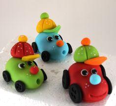 Fondant cars