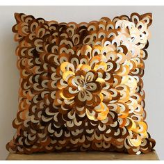 Decorative Pillow Sham Covers 24x24 Inches by TheHomeCentric