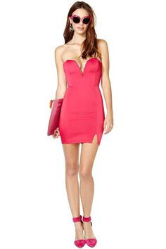 Nasty Gal Look Out Dress