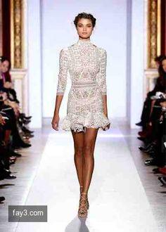 فستان من تصميم زهير مراد مجموعة هوت كوتور صورة 20