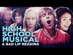 """""""HIGH SCHOOL MUSICAL: A BAD LIP READING"""" -- Bad Lip Reading and Disney XD Present: - YouTube"""