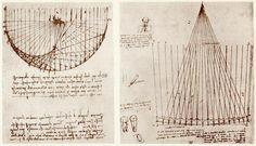 image from Leonardo da Vinci's notebooks