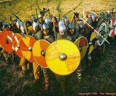 viking/saxon shieldwall