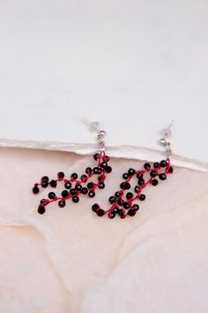 Seed Bead Earrings, Seed Beads, Crochet Earrings, Crocheting, Beaded Jewelry, Jewelery, Beading, Jewelry Accessories, Arts And Crafts
