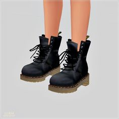 Sims 4 CC's - The Best: Boots by Marigold