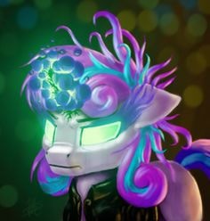 Size: 962x1016 | Tagged: artist:piercingsight, artist:piercing-sight, clothes, dark magic, evil, evil flurry heart, jacket, leather jacket, magic, princess flurry heart, safe, solo