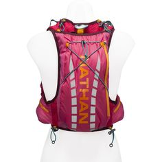 f3f913ee75 Amazon.com : Nathan Vapor Airess Hydration Race Vest - Women's Sparkling  Cosmo… Running