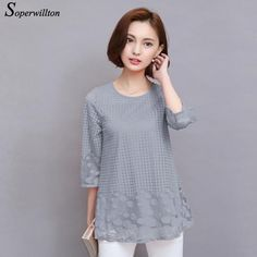 Blouses & Shirts Enthusiastic Lace Blouse Women Winter Solid Casual Lace Long Sleeve Lace Patchwork Tops Women Blouse Shirt Blusas Femininas De Verao 2019
