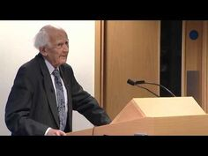 Zygmunt Bauman Lecture - YouTube