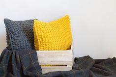 Yellow Sofa, Yellow Cushions, Yellow Accessories, Bedroom Accessories, Dark Gray Sofa, Dark Grey, Mustard Cushions, Mustard Yellow Decor, Pottery Barn Bedrooms