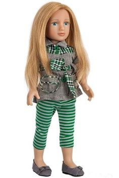Sydni - The only 18 inch dolls with real hair!  Little girls will play for hours with these dolls!