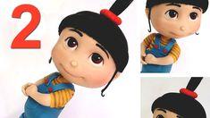 DIY ♡ modelagem da Agnes (Parte 2/4) - Meu malvado favorito em biscuit