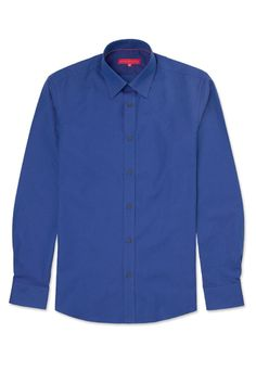 Plain Shirt - 192376-40 Blue #reportCollection #Men #fashion Plain Shirts, Modern Man, Sports Shirts, Daily Wear, Stylish Outfits, Men Fashion, Shirt Dress, Casual, Mens Tops