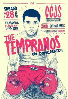 The Tempranos by Lucas We, via Behance: