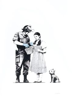 "Banksy ""Stop and Search"""