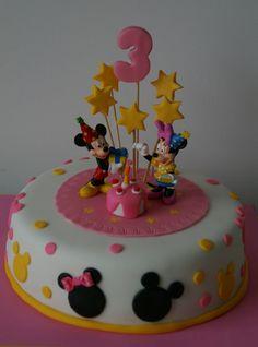 decoracion de cumpleaños de minnie y mickey mouse - Nocturnar