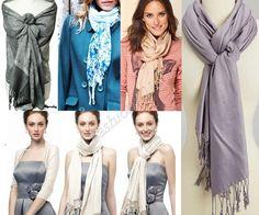 как носить шарф пашмина фото 1