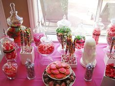 Girl Baby Shower Decorations | Candy Baby Shower Decoration Ideas · Baby Care Answers, 604x453 in ...