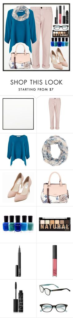 """Untitled #107"" by amaliadw ❤ liked on Polyvore featuring By Lassen, Current/Elliott, Diane Von Furstenberg, Charlotte Russe, Nly Shoes, Fiorelli, Zoya, NYX, NARS Cosmetics and Kate Spade"