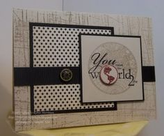 You Mean the World by Princessforj - Cards and Paper Crafts at Splitcoaststampers