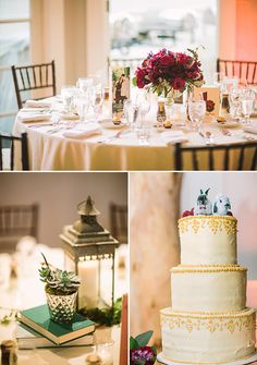 classic wedding reception @weddingchicks