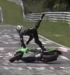 OUCH!!! Do you think you could handle the Nurburgring track in your car with out crashing? These guys certainly didn't!!