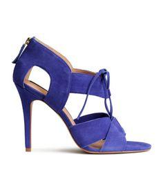 H&M Sandaletter i læder 499.-