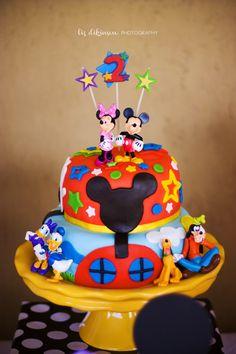 Birthday   Mickey Mouse Clubhouse   Miami Photographer   Liz Dikinson Photography