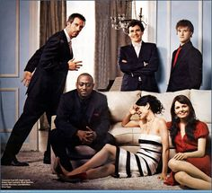 """The cast of """"House"""". #TV"""