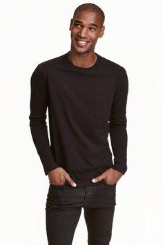 Tričko sdlhým rukávom | H&M