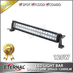 120W super spot offroad outdoor powersports Jeep ATV UTV CUV bune buggy motorcycle truck trailer tractor vehicles heavy duty equipment spot flood combo high power led driving work light bar