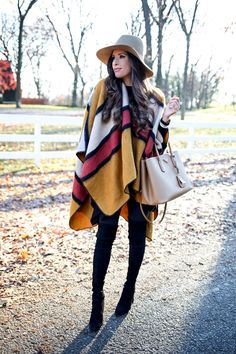 CASUAL CAPE OUTFIT The Sweetest Thing waysify