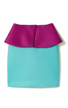 #Turquoise and purple peplum!  peplum #2dayslook #peplumt style #peplumtfashion  www.2dayslook.com