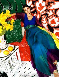 Michael Thompson Italian Vogue Matisse