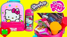 Lunch Box Surprises Hello Kitty Lunch Bag Surprises Shopkins MLP