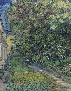 Vincent van Gogh Dutch 1853–90 The Garden of Saint-Paul Hospital 1889 oil on canvas 91.5 x 72.0 cm Kröller-Müller Museum, Otterlo © Kröller-Müller Museum