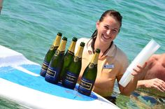 Champagne in the Surf