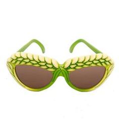 A pair of 1980s Green Isabel Canovas Sunglasses