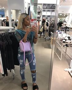 just fucking fllw me Dope Outfits, Jean Outfits, Fashion Outfits, Lit Outfits, Fashion Tips, Urban Fashion, Love Fashion, Fashion Looks, Womens Fashion