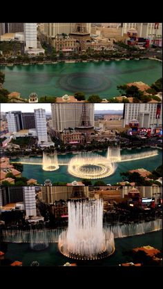 The Bellagio's Hotel water show Las Vegas NV