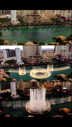 The Bellagio's Hotel water show Las Vegas NV