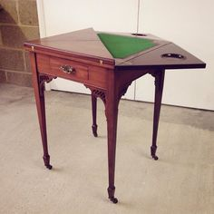 #Edwardian fold-out card table lot 450 in our #Antiques #Collectables & #Interiors #auction this Weds. View catalogue and more at townsend-auctions.co.uk  #furniture #edwardianfurniture #antiquefurniture #antiquesauction