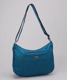 Take a look at this Lagoon Charm Crossbody Bag by baggallini on #zulily today!