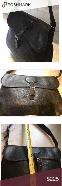d317b919182c Vintage Prada Bag - Black Leather. Beautiful Prada bag. Vintage mid-90 s.