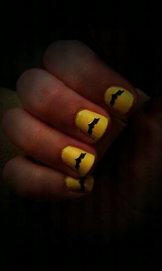 Batman Nails by With It Or Upon It