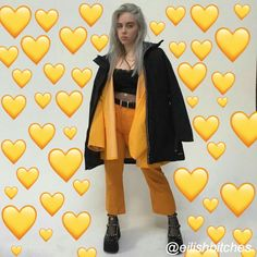 Billie eilish, aesthetic, and fashion image Billie Eilish, Videos Instagram, Instagram Repost, Snapchat, Queen, Fashion Images, Mellow Yellow, Like4like, Celebs
