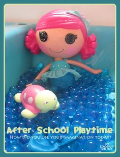 The Educators' Spin On It: Water Bead Fun at After School Express {Link up and share details of your After School Week!}