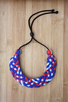 Woven Collar Necklace by Coalesced on Etsy, $40.00